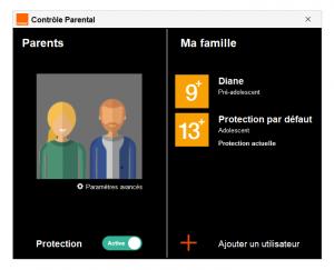 Logiciel de controle parental