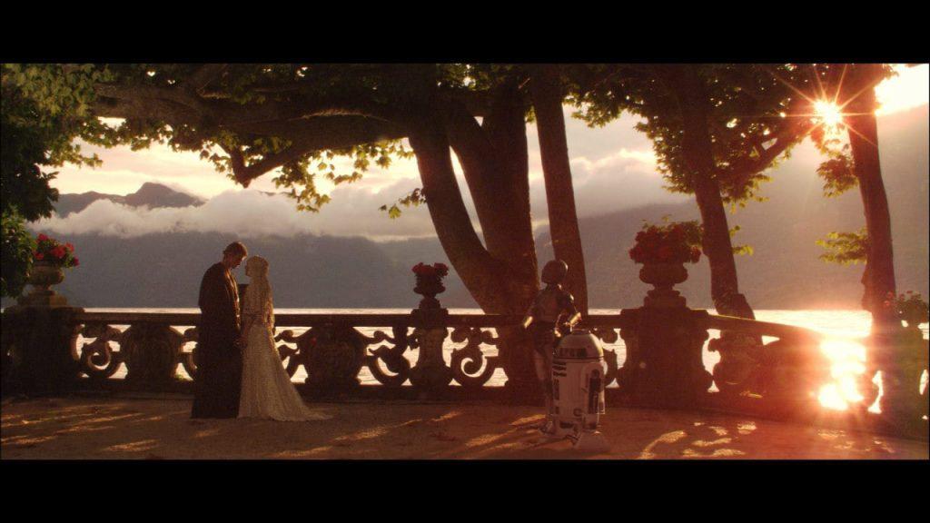 Le mariage d'Anakin et Padmé - Star Wars