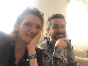 Severine Nemesin et Jean-Paul Santoro
